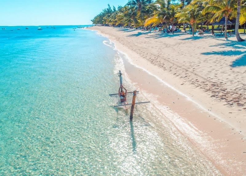 Le Morne Beach. Best instagram spot. Brest beaches to visit in Mauritius in 2020