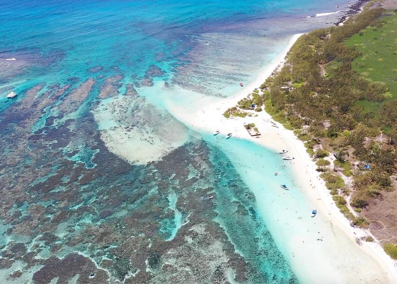 Ilot Gabriel and Ile Plate Mauritius