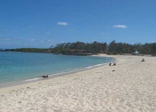 La Cambuse beach in Mauritius