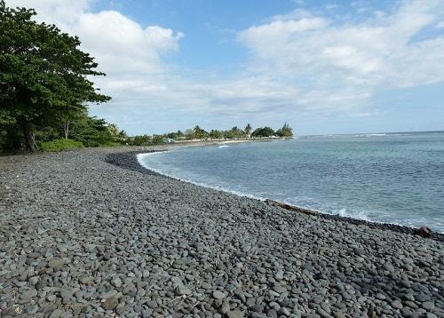 Riviere des galets beach in Mauritius