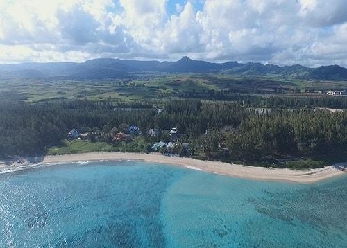 St felix beach in Mauritius