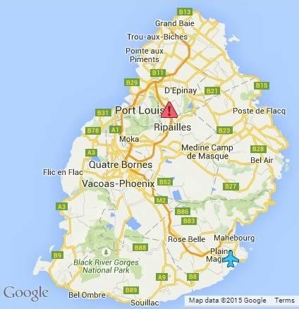 Road Map of Mauritius Latest Updates