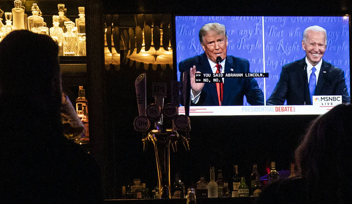 Trump v Biden: a duel of contrasting masculinities