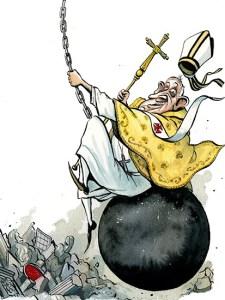 """El Papa: """"Avanti con le riforme!"""".  Come Mario  Monti, Renzi, la Fornero..."""