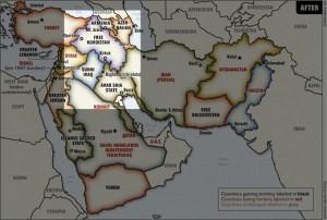 Forse è la mappa che ha fatto impazzire Erdogan