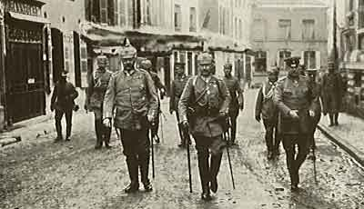 Hindenburg, Ludendorf e il Kaiser