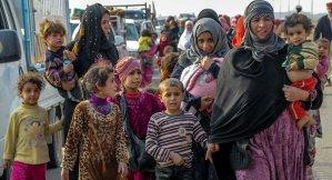 Per i bambini di Mossul, la Goracci non piange.  Chiediamoci perchè.