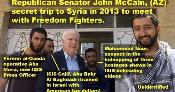 """""""unidentified"""" è Moufaz Moustafa, l'agente d i collegamento fra McCain e i terroristi."""