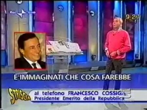 COSSIGA SU DRAGHI - VILE AFFARISTA