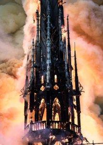 SU PARIGI SERVE UN ESORCISMO -  contro il  demone del fuoco