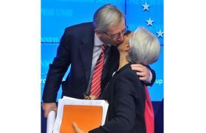 """""""LAGARDE HA FATTO DEL FMI UNO STRUMENTO PER MANTENERE L'EURO"""" . Gli asiatici se ne andranno."""