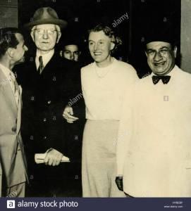 Schacht atterra al Cairo, 1951.