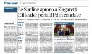 """PD: annunci che tali non erano. Dal cambio di sede (e trasloco) mai avvenuta, alla fusione rifondazione  del """"partito nuovo"""" di Zingaretti…"""