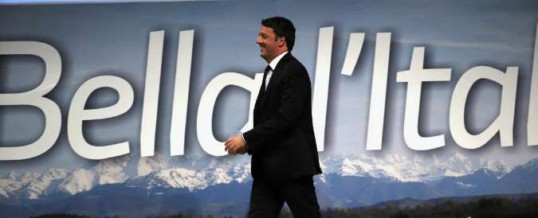 ITALIA: Tasse, corruzione, pensioni: i nodi da tagliare…