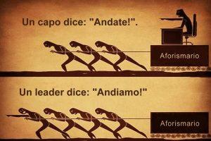 Life: capo o leader, motiva il tuo staff…