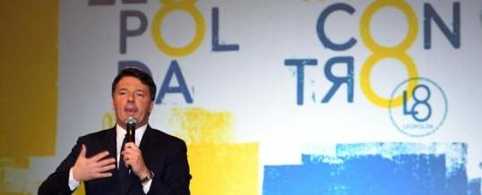 """Renzi: alla nona Leopolda fa la """"prova del nove"""" al PD…"""