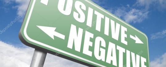 Pensiero negativo o pensiero positivo?