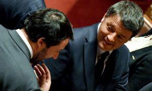 """Italia: per salvare il Paese servirebbe l'unità nazionale ma non ne sono capaci… Salvini & Renzi, una liasion impossibile… neanche la """"Bestia"""" li salverà…"""