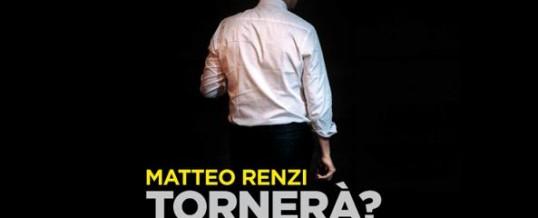 PD: Renzi perde il Congresso, ma incapace di star zitto continua a vantar meriti…
