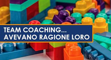 Team Coaching… ma serve davvero?