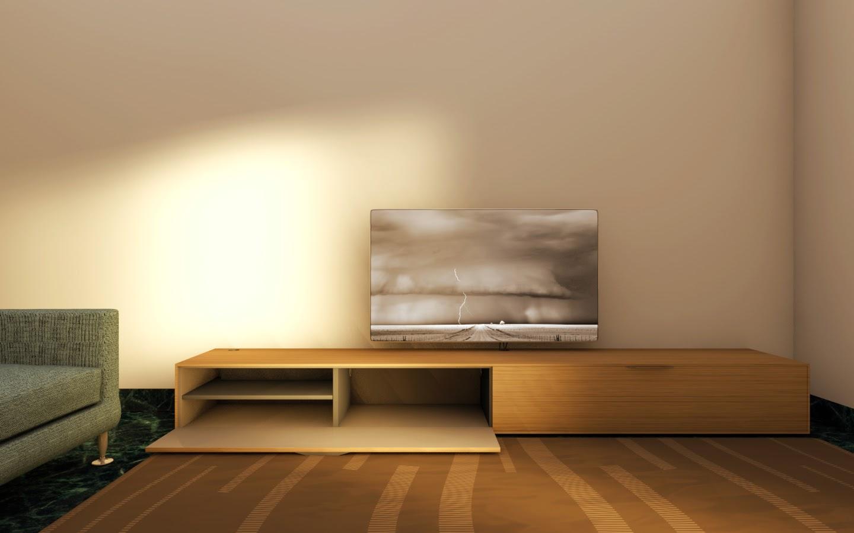 tv module ambientato