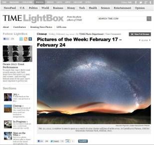 Pubblicazione Time USA