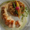 Lagosta com tabule de quinoa Le French Bazar Chefs Dudu Borger e Beto Tempel