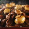 Carne fatiada com champignon Tokai (Salvador)