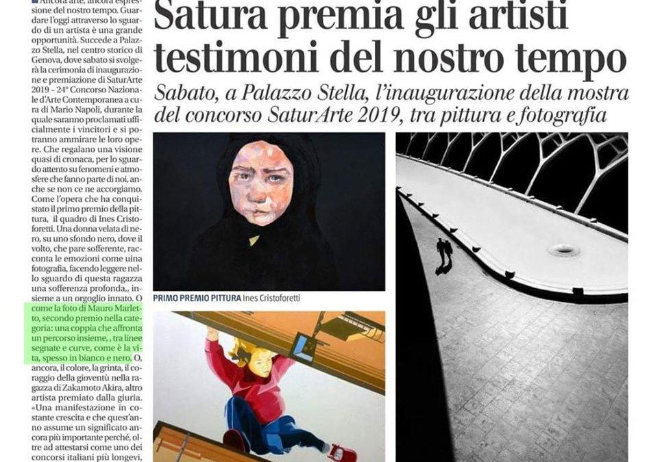 Satura premia gli artisti testimoni del nostro tempo