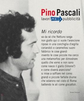 """Manifesto Pascali, mostra """"LAVORI PER LA PUBBLICITÀ"""""""