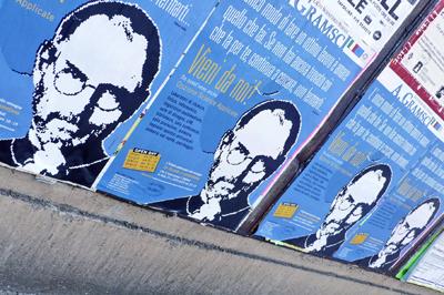 Affissione manifesti 2012