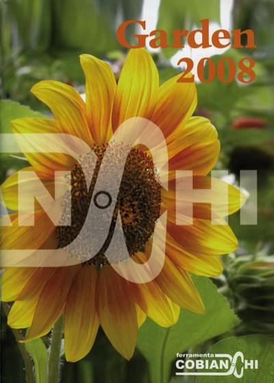 """Copertina catalogo """"Garden 2008"""""""