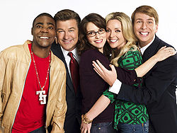 Il cast di 30 Rock (foto da Wikipedia)