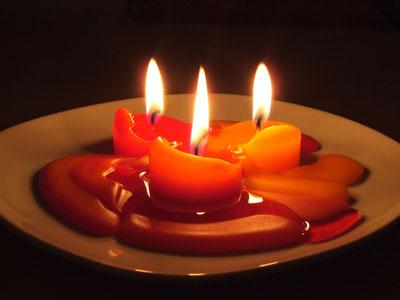 3 candele