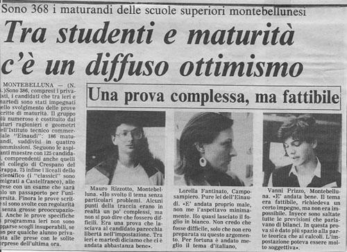 Da La Tribuna di Treviso del... boh... 1984