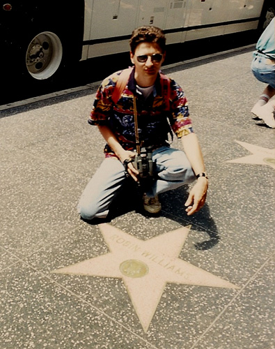 Los Angeles, 1995 - Hollywood Walk Of Fame