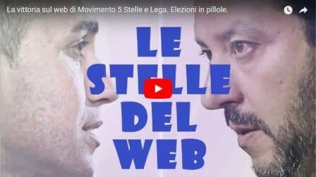 La vittoria sul web di Movimento 5 Stelle e Lega. Elezioni in pillole.