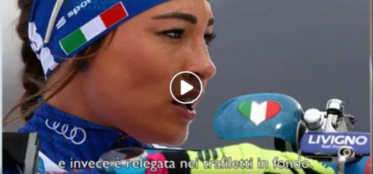 Dorothea Wierer trionfa nel biathlon ma non sui mass media. La comunicazione è ingiusta?