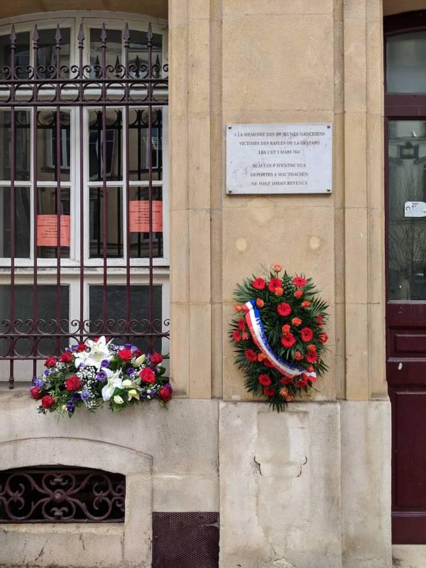 Commemorative Event Parcours Moriel Des Jeunes