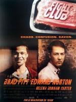 Affiche française de Fight Club.