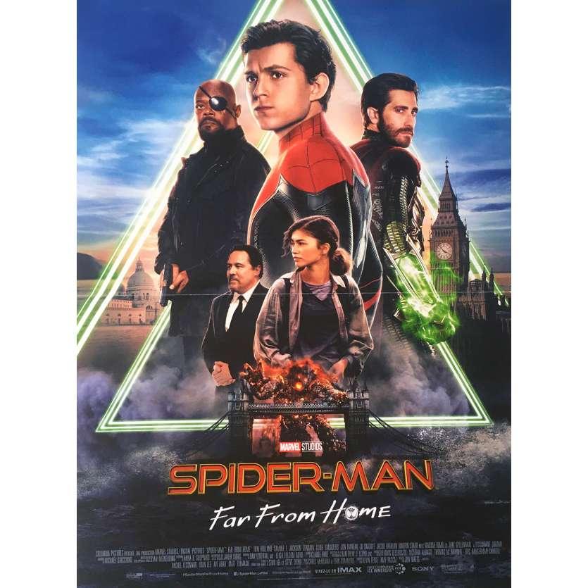 spider man far from home original movie poster 15x21 in 2019 jon watts tom holland