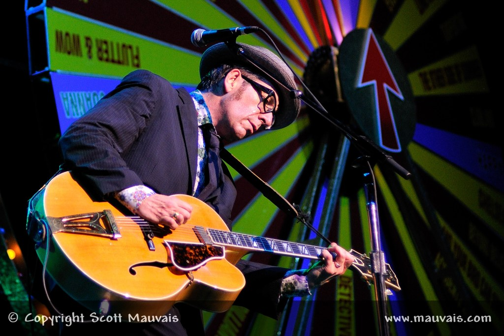 Elvis Costello on May 5, 2011 at the Fox Theatre