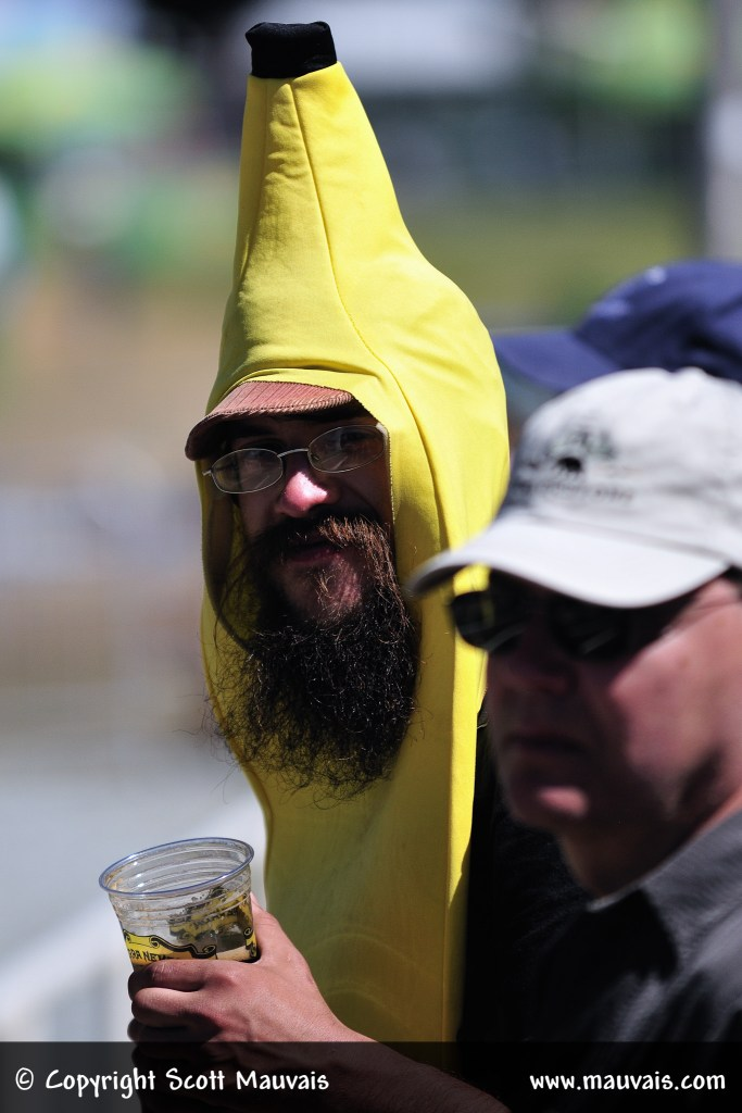 Is that a banana on your head or are you happy to see me