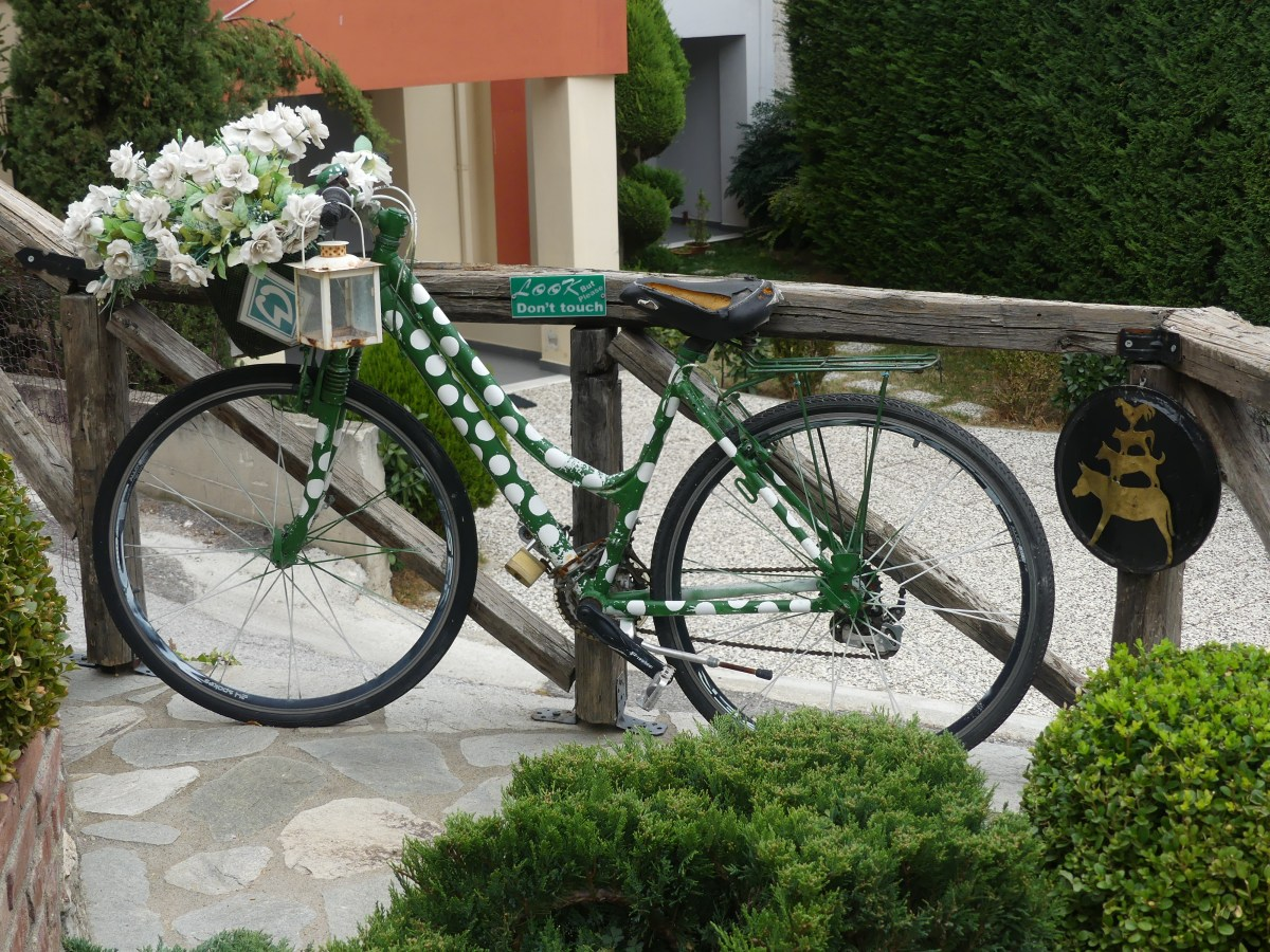 A bike in Kastoria