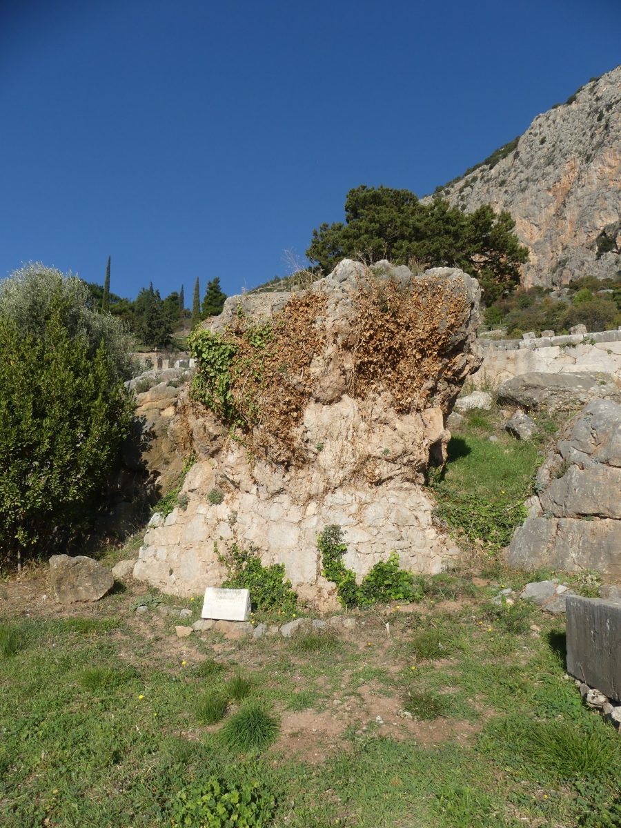 Sybilla's rock in Delphi