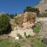 Sybilla's rock in Delphi