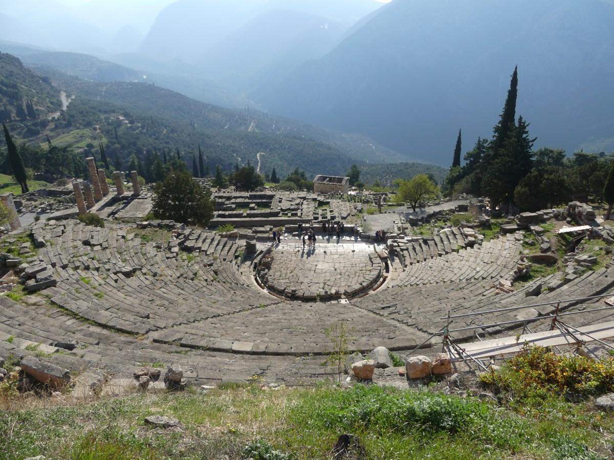Theater in Delphi
