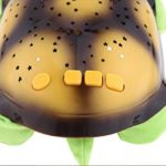 LED pour la nuit lampe enfant,en forme d'animale, cadeau enfant, lampe chevet enfant Veilleuse Tortue Projecteur d'image Ciel étoilé Musique Tranquil offre ses doux effets sonores et lumineux pour aider les enfants à s'endormir !(couleur vert)