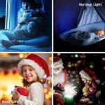 3D Lampe Illusion Nuit Lumière Main De Victoire Led Veilleuse, 16 Couleurstactile Lampe De Chevet Chambre Art Déco Enfant Lumière De Nuit Avec Câble Usb De Noël Cadeau D'Anniversaire