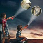 Lampe De Poche De Projecteur De Dinosaure D'enfants,Tournez Vers Focus 24 Picture Bedtime Dinosaur,Meilleur Cadeau Pour Little Story Avant D'aller Au Lit